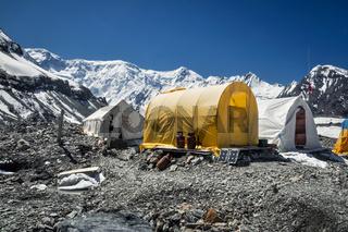 Tents in Kyrgystan