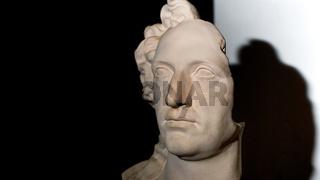 Büste von Johann Wolfgang von Goethe