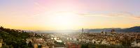 Firenze summer sunset