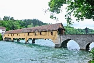Rheinbrücke bei Rheinau-Altenburg Schweiz