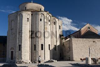 Kirche Sveti Donat/Church of St. Donatus, Zadar