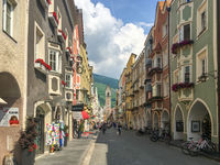Old town of Vipiteno (Sterzing), South Tyrol, Italy