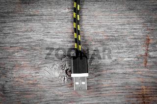 Nylon braided USB cable