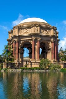 Palace of Fine Arts San Francisco California