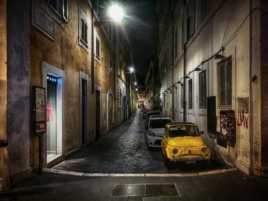 the little yellow Italian