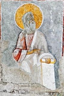 im Bogen der Nikolauskirche in Myra Türkei