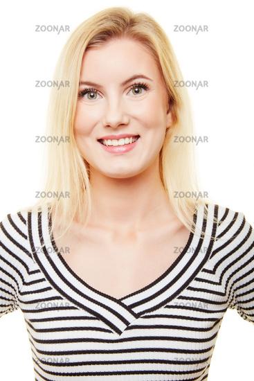 Photo Bewerbungsfoto Einer Jungen Blonden Frau Image 11455072