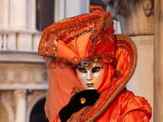 Maske rot-Mask red