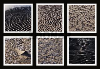 Borkum Watt Collage