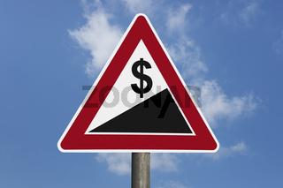 Dollar bergauf | Dollar uphill