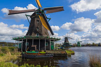 Windmills in Zaanse Schans - Netherlands
