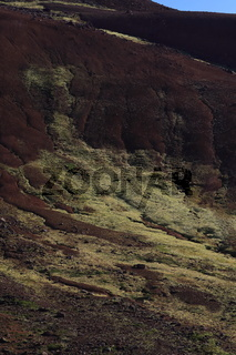 Kerlingarfjoll , Rhyolite Berge, ein vulkanisches Gebirge im Hochland von Island