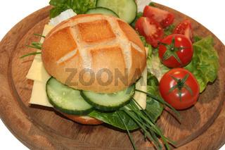 Broetchen mit Käse