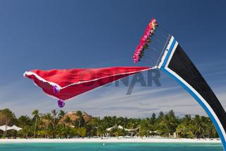Malediveninsel Kandooma
