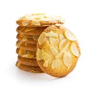 Sweet almond cookies.
