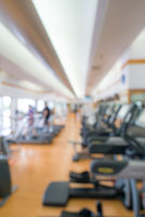 fitness center background