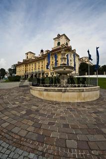 Schloss Esterhazy in Eisenstadt, Burgenland, Österreich, Europa / castle Esterhazy in Eisenstadt, Burgenland, Austria, Europe