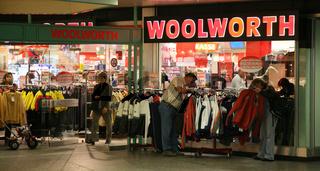 Woolworth-Filiale im Stachus Einkaufszentrum