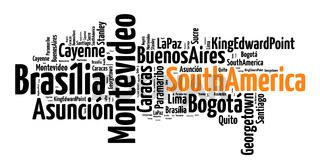 Capitals in South America
