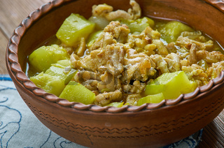 Turkish zucchini dish