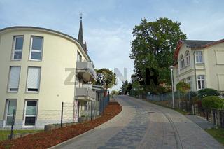 kirchstrasse in zinnowitz
