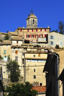 In Banon, Provence, Frankreich