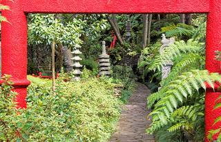 Monte Palace Japanese Garden Madeira
