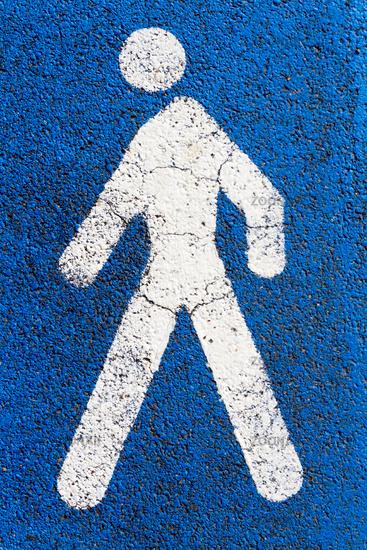 pictogram pedestrians