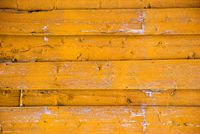 Yellow Wooden Background With Copy Space
