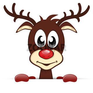 Rentier Banner - Rudolf