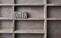Wooden Letter CMYK