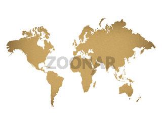 Paper Map Illustration