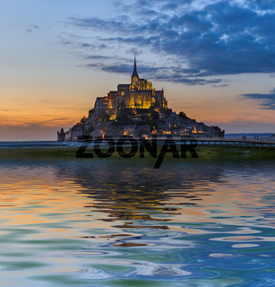 Mont Saint Michel Abbey - Normandy France