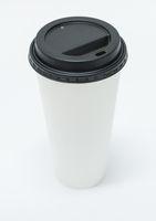 blank takeaway cup