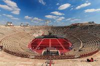Inside view of Verona Arena, Italy