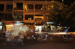 Strassenszene in Phnom Penh