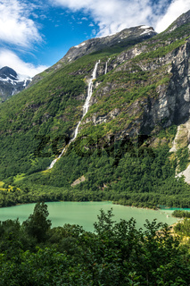 Am Gletschersee in Sande