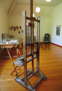 Ehemaliges Wohnhaus (jetzt Museum) des Malers Otto Dix,Hemmenhofen,Bodensee