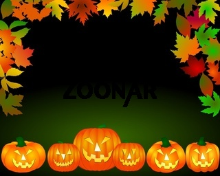 Halloween Hintergrund Rahmen