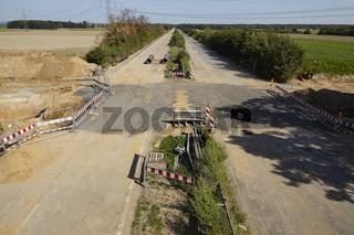 Braunkohle - Stillgelegte Autobahn A4 bei Kerpen-Buir