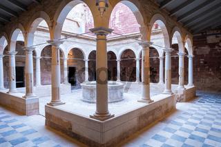 Ruins of the Carthusian Monastery of Scala Dei, Catalan, Cartoixa de Santa Maria d'Escaladei