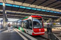 Train of Chemnitz Bahn in Chemnitz Central Station