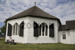 Kapelle von Vitt,  Halbinsel Wittow, Insel Ruegen, Deutschland, Chapel, Peninular, Island, Germany