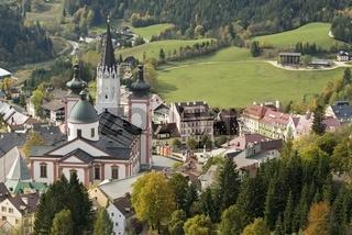 Wallfahrtskirche und Basilika in Mariazell