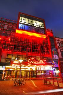 Schmidt Theater mit Reataurant auf der Reeperbahn, St Pauli, Hamburg, Deutschland, Schmidt Theatre and Restaurant at Reeperbahn, St Pauli, Hamburg, Germany