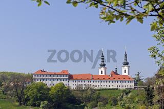 Strahov Kloster, Prag, Boehmen,  Tschechien, Europa