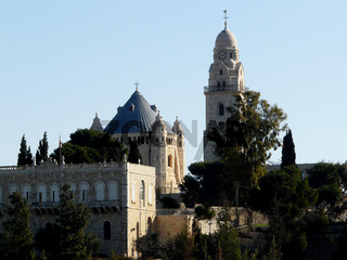 Dormitio Abtei auf dem Zionsberg in Jerusalem