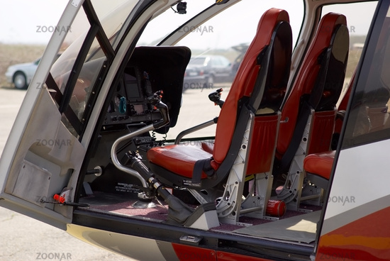 Helicopter cabin