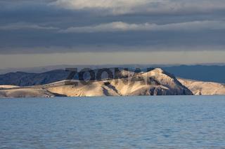 Insel Goli im Velebit-Kanal