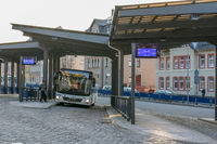 Bus station in Annaberg-Buchholz